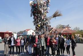 Posjet Ugostiteljsko-turističke škole Osijek reciklažnom dvorištu Unikom-a povodom Eko dana
