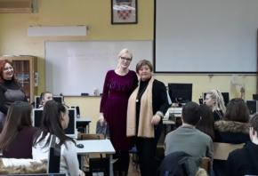 Održano predavanje poslovnim tajnicima u Ekonomskoj i upravnoj školi