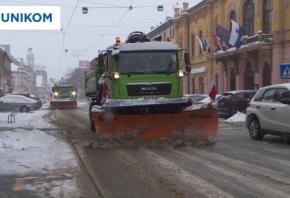 VIDEO Zimsku službu snijeg nije iznenadio