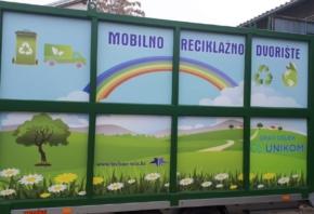 Raspored rada mobilnog reciklažnog dvorišta u srpnju