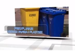 VIDEO Prikupljanje i odvoz papira i plastike