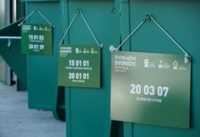 Obavijest o radu reciklažnih dvorišta